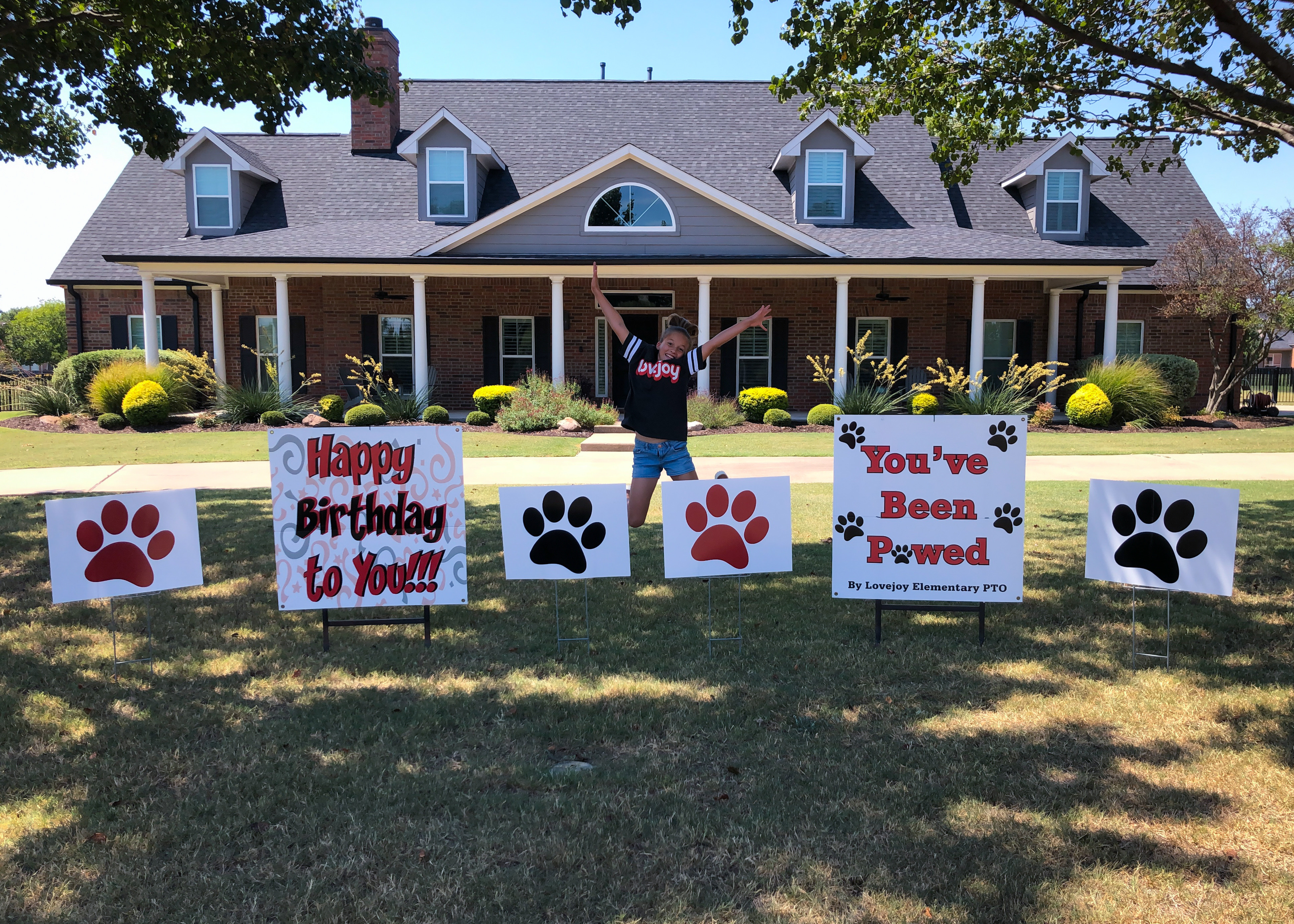 Paw Signs